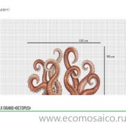 """Панно Octopus от """"Ezarri"""""""