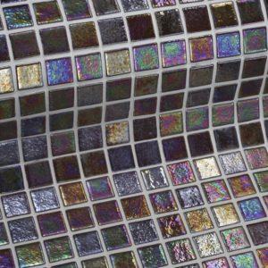Стеклянная облицовочная мозаика модели Cobre antislip