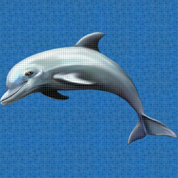 Панно Dolphin