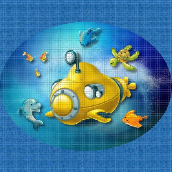 """Панно """"Ezarri"""" Yellow Submarine"""