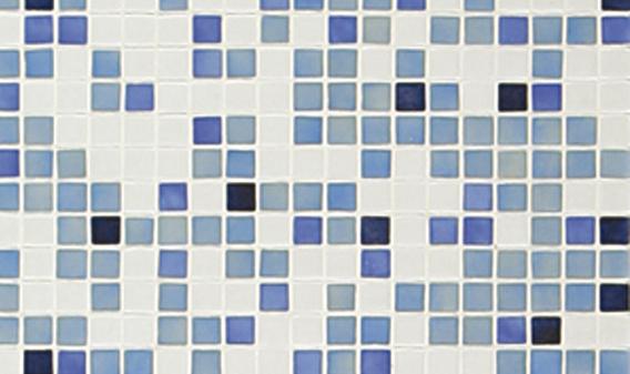 Стеклянная мозаичная растяжка Ezarri Azul №3