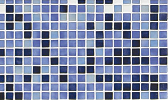 Стеклянная мозаичная растяжка Ezarri Azul №6