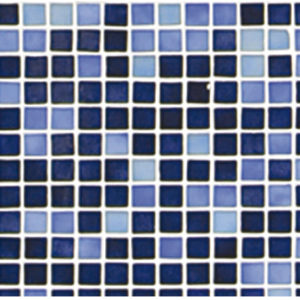 Стеклянная мозаичная растяжка Ezarri Azul №7