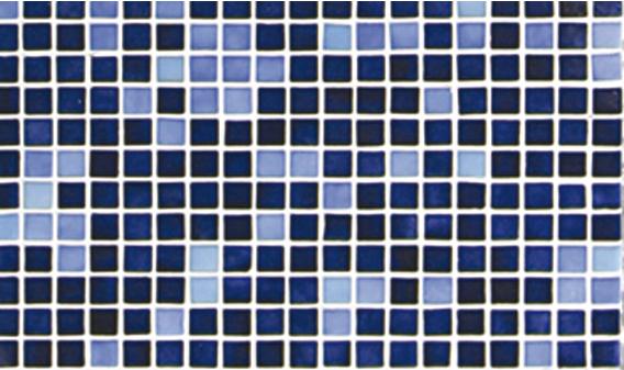 Стеклянная мозаичная растяжка Ezarri Azul №8