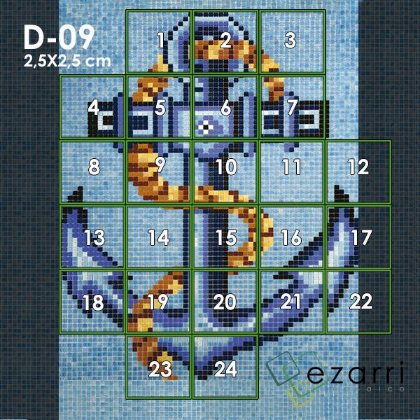 панно ezarri d-9