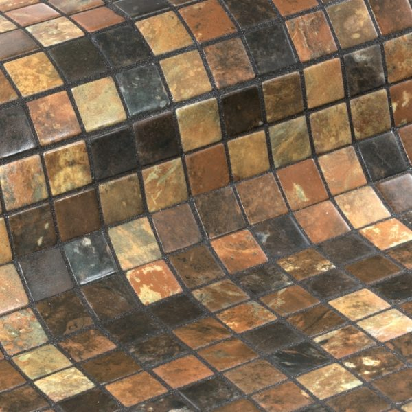 стеклянная мозаика модели riverstone ezarri