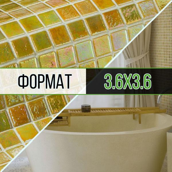 Мозаика формата 3.6x3.6 см