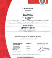 """Cертификат """"Ezarri""""  2008"""