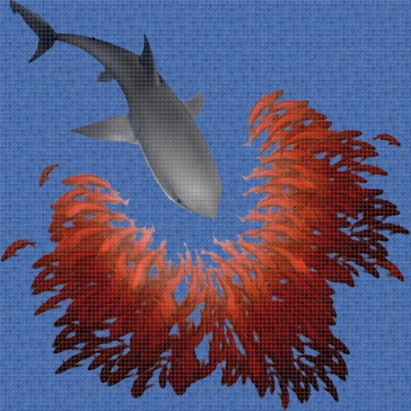 """Панно """"Ezarri"""" Shark"""