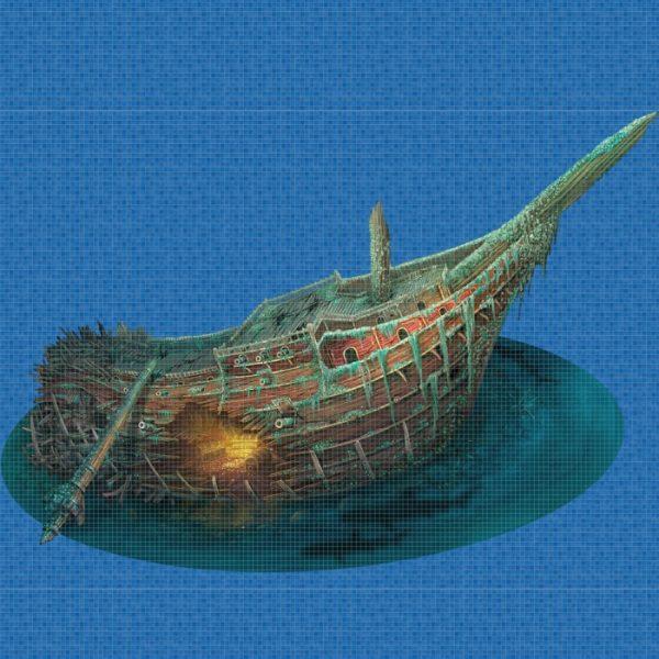 "Панно ""Ezarri"" Treasure Ship"